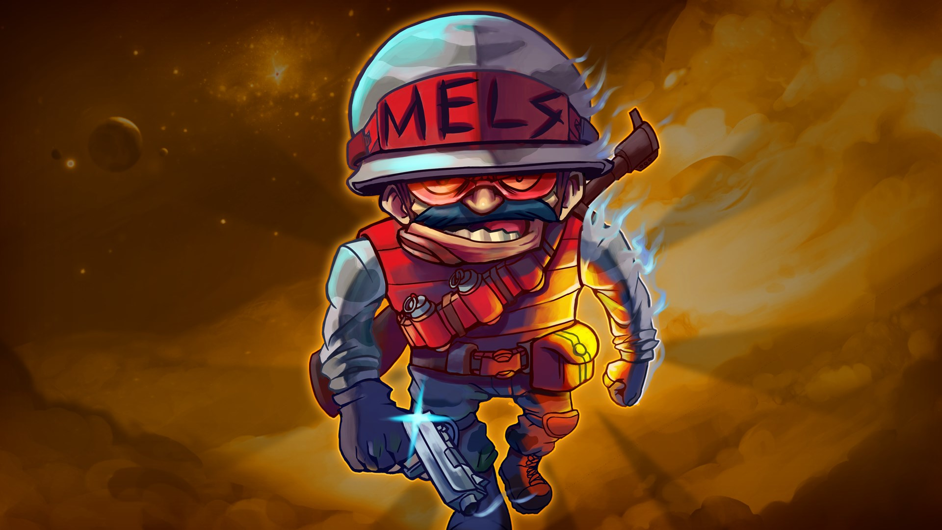 Облик — Private Mels - Awesomenauts Assemble!