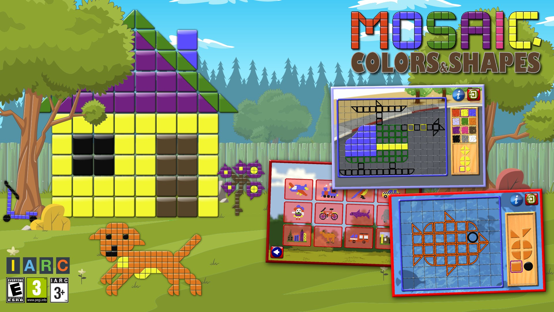 a21c6970c9652 Get Kids Mosaic Art Shape and Color Picture Puzzles - Microsoft Store