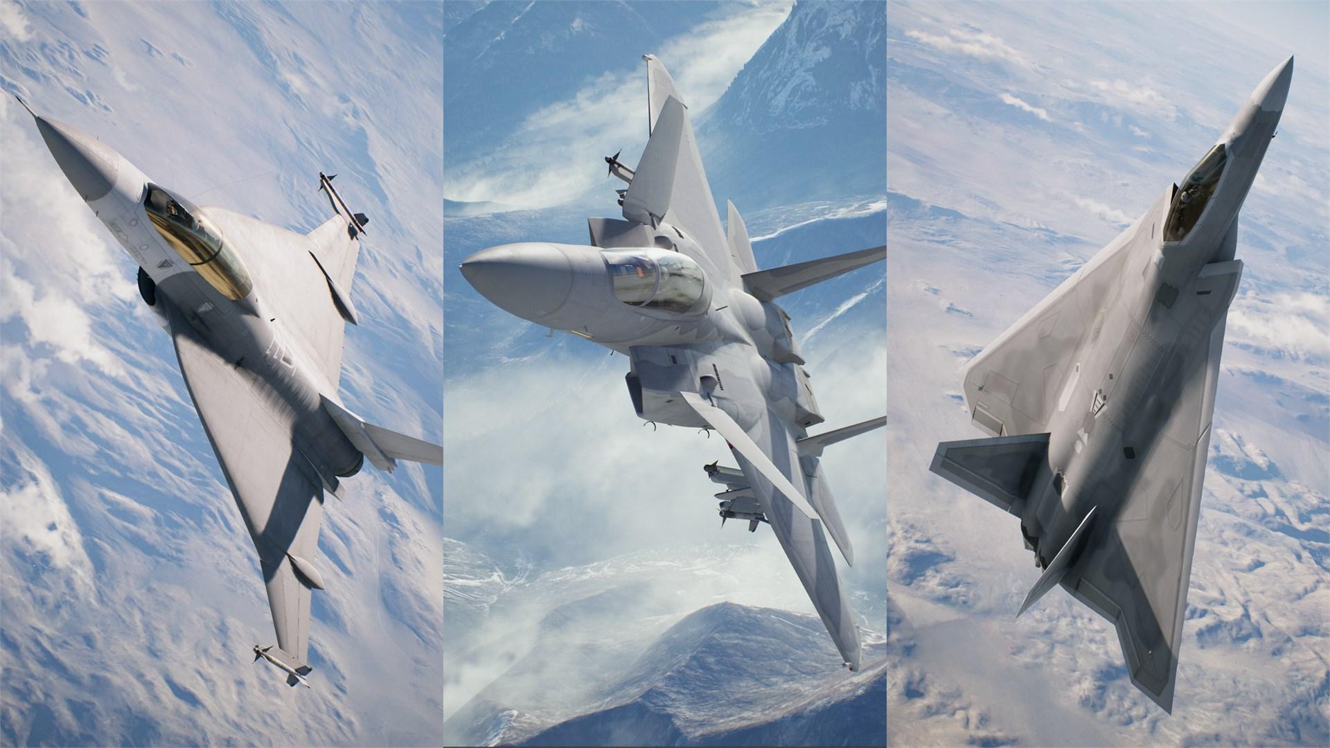 DLC de 25 aniversario de ACE COMBAT™ 7: SKIES UNKNOWN - Conjunto de serie de aviones experimentales