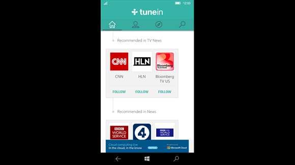 TuneIn Radio now available for Windows 10 Mobile - MSPoweruser