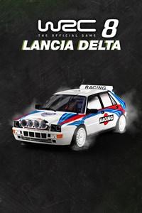 Carátula del juego WRC 8 - Lancia Delta HF Integrale Evoluzione (1992)