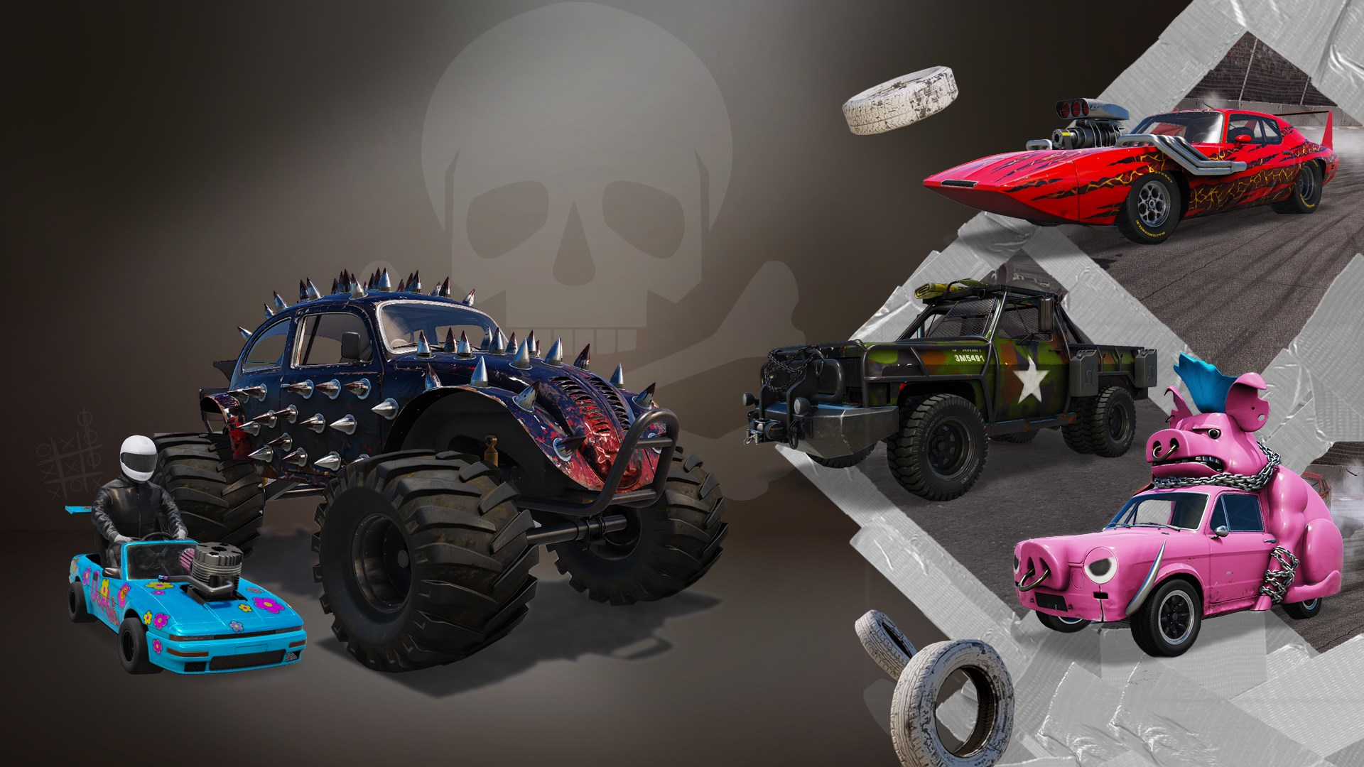Modified Monsters Car Pack