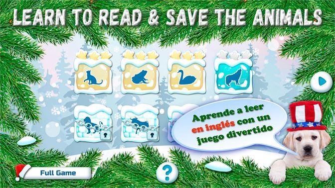 Obtener Ingles Para Ninos Aprenda A Leer Y Salve A Los Animales