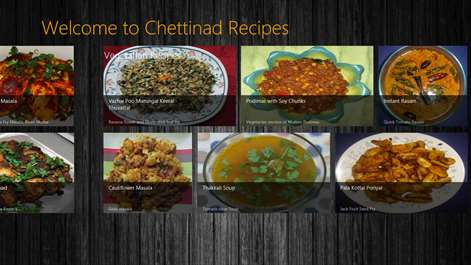 Buy chettinad recipes microsoft store screenshot vegetarian chettinad recipes forumfinder Gallery
