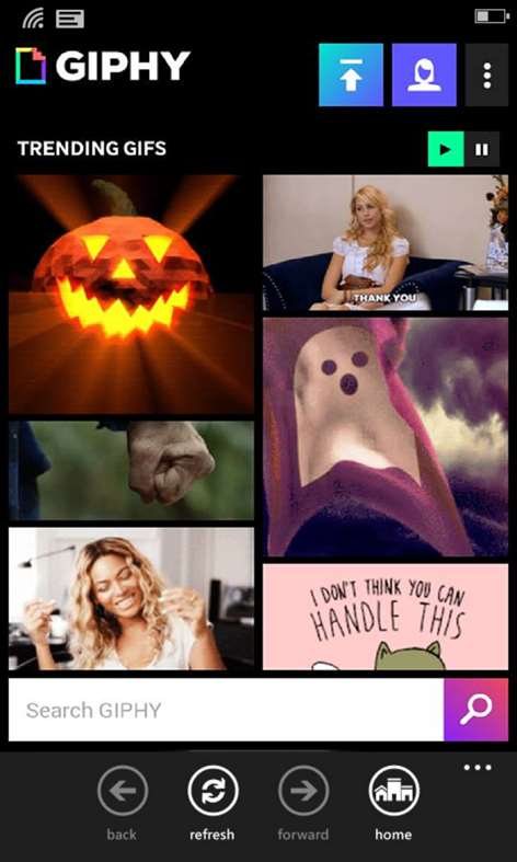 GIPHY - All the GIFS Screenshots 1