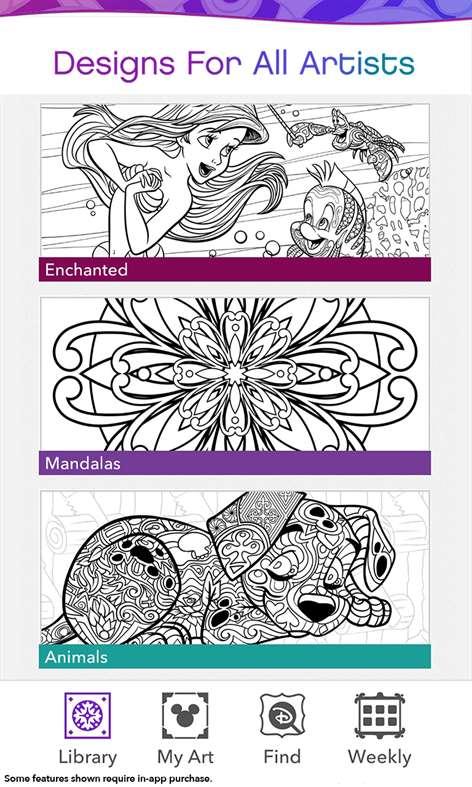 Get Color By Disney