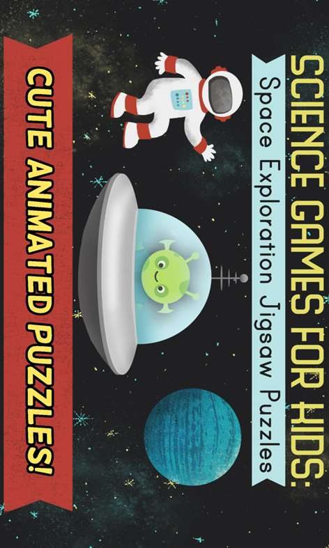 Science Games for Kids: Space Puzzles Screenshots 1