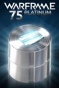 Carátula del juego Warframe: 75 Platinum