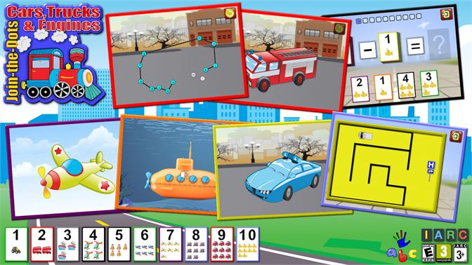 Get ABC Preschool Car Truck and Engine Connect the Dot Puzzle