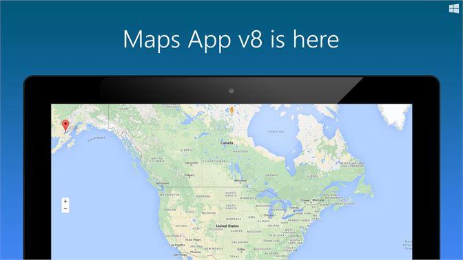 Get maps app microsoft store screenshot maps app v8 gumiabroncs Gallery
