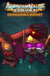 Carátula del juego Commander Rocket - Awesomenauts Assemble! Character