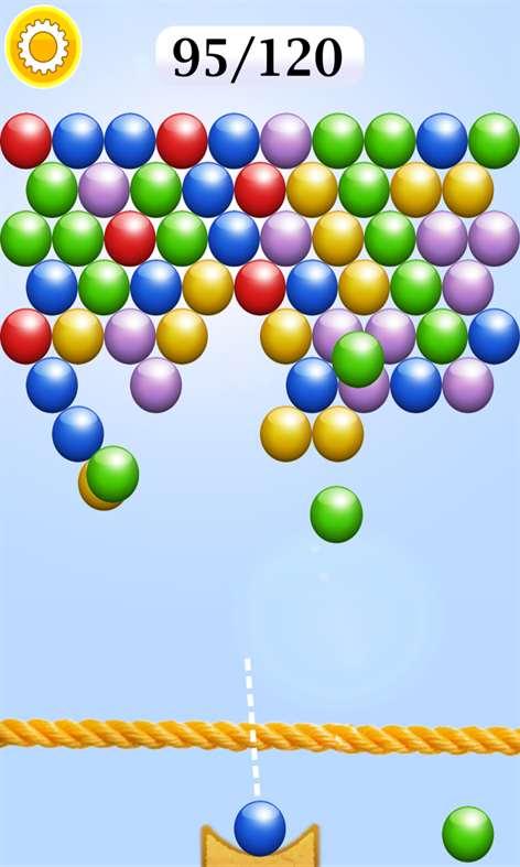 The Bubble Shooter. Screenshots 2