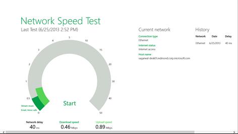 Network Speed Test Screenshots 1