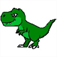 купить Dinosaur Color By Number Pixel Art Coloring Book