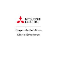 mitsubishi electric uk les, corporate solutions digital brochures
