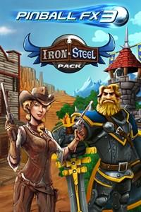Carátula del juego Pinball FX3 - Iron & Steel Pack