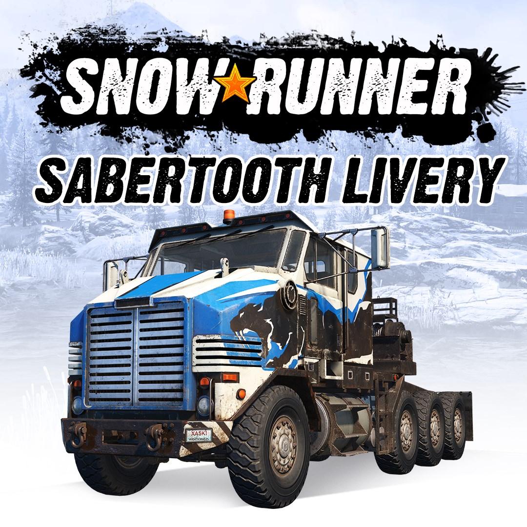 Скриншот №3 к SnowRunner - Derry Longhorn 4520 Sabertooth Livery