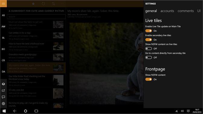 Get Infinity for reddit - Microsoft Store