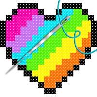 Cross Stitch Adult Color By Number Book Pages Beziehen Microsoft Store De De