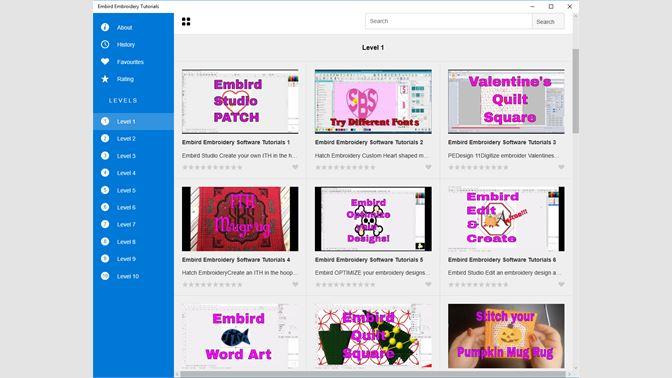 Buy Embird Embroidery Tutorials - Microsoft Store