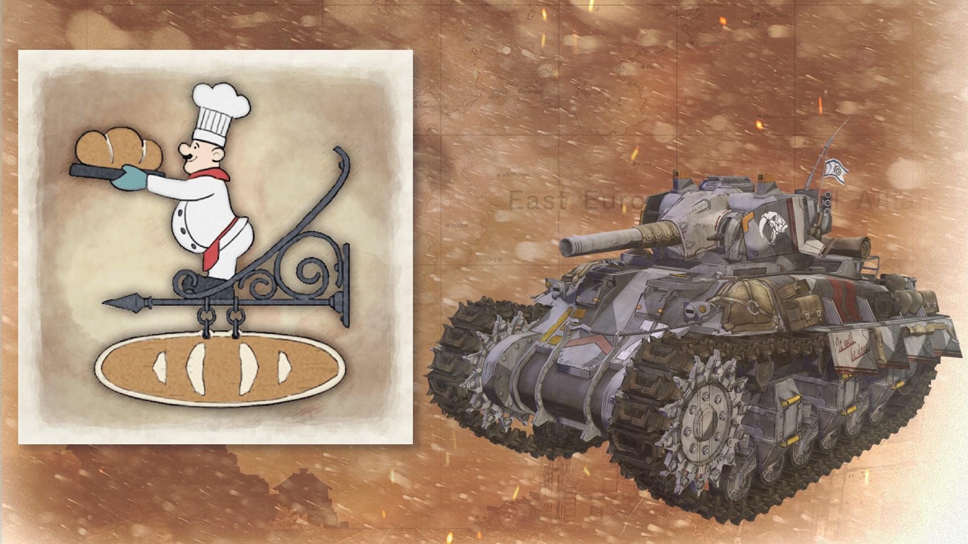 Tank Decal - Bakery
