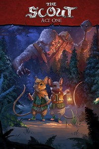 Carátula para el juego The Lost Legends of Redwall : The Scout de Xbox 360