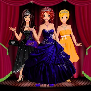 Party Dress up  - Girls Game