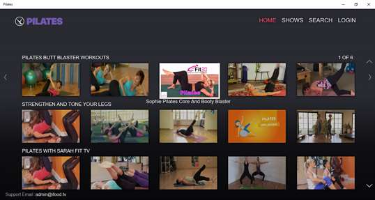 Pilates by fawesome.tv screenshot 1
