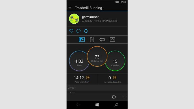 Garmin Connect Mobile App >> Get Garmin Connect Mobile Microsoft Store