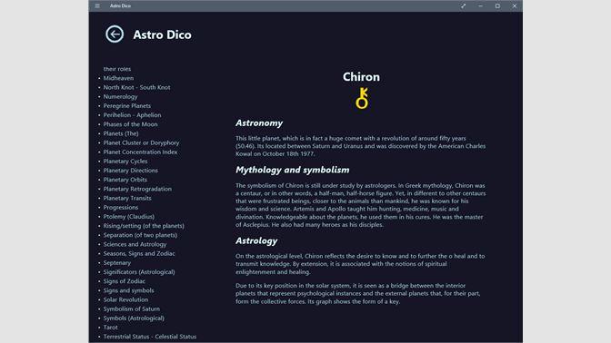 Comprar Astrology Dictionary: Microsoft Store es-MX