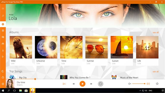 Buy gPlayer for Google Play Music PRO - Microsoft Store