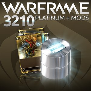 Warframe®: 3210 Platinum + Triple Rare Mods Xbox One