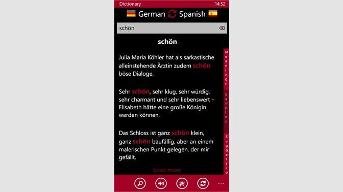 Buy Spanish - German - Microsoft Store