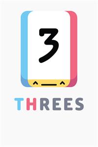 Carátula para el juego Threes! de Xbox 360