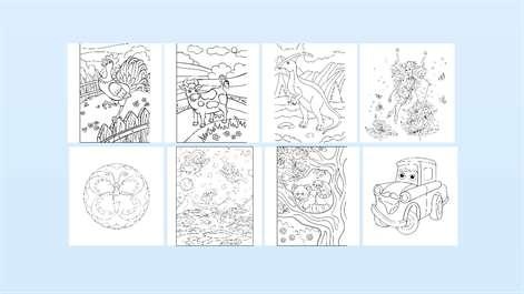 screenshot - Zen Coloring Pages