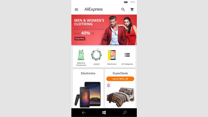 4bd84f18ab4 Get AliExpress Shopping App - Microsoft Store