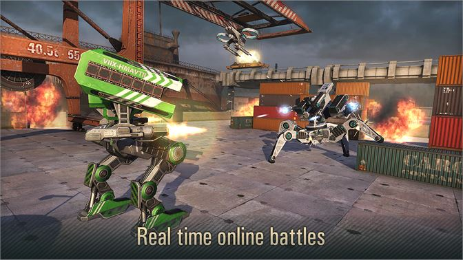 Get WWR: World of Warfare Robots - Microsoft Store