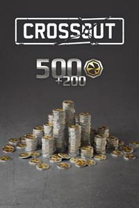 Crossout - 500 (+200 bonus) Crosscrowns