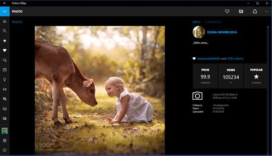 Perfect 500px screenshot 3