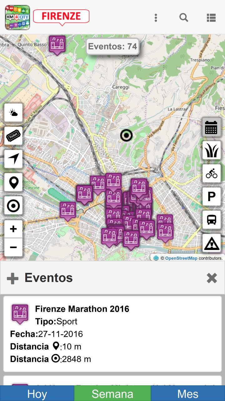Screenshot 6 de Firenze dove, cosa... Km4city para windows