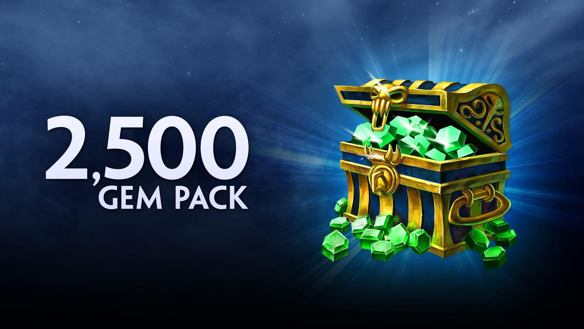 2500 Gems
