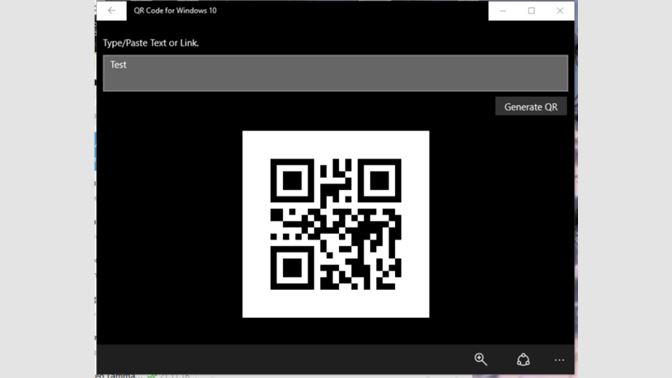 qr code scanner app for windows 10