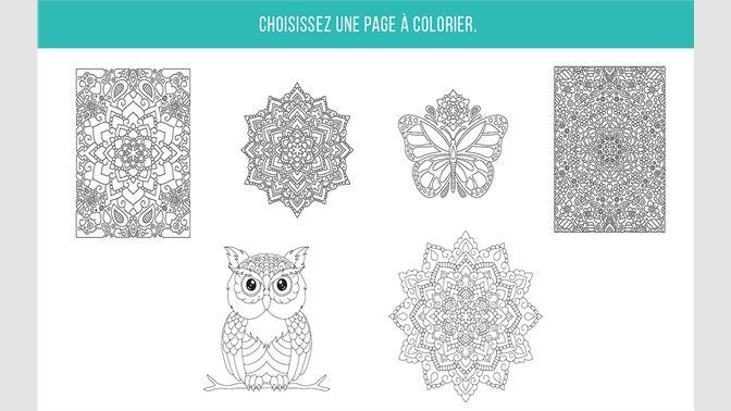 Coloriage Zen Ecole.Obtenir Zen Coloring Book For Adults Microsoft Store Fr Ca