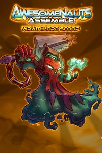Carátula del juego Wraithlord Scoop - Awesomenauts Assemble! Skin