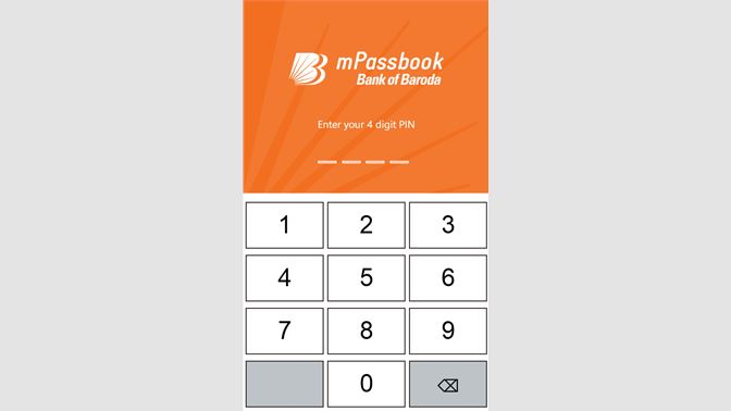 Get Baroda mPassbook - Microsoft Store