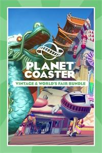 Planet Coaster: Conjunto Vintage e Exposição Universal