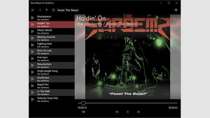 Získat MusicPlayer for OneDrive – Microsoft Store v: cs-CZ