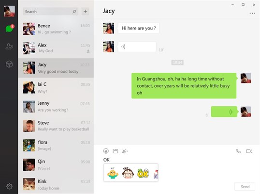 WeChat For Windows screenshot