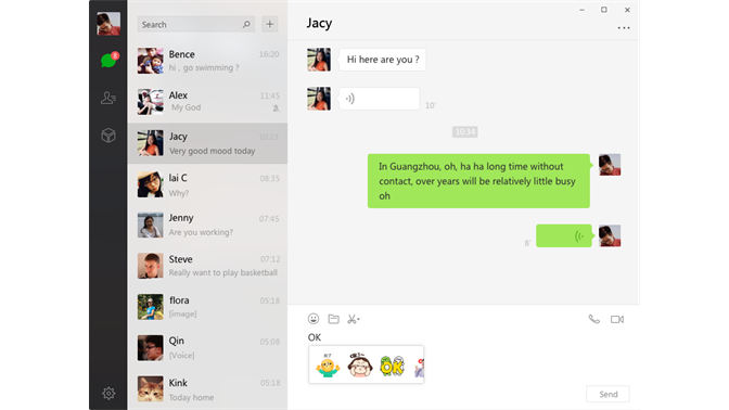 wechat app for pc free download