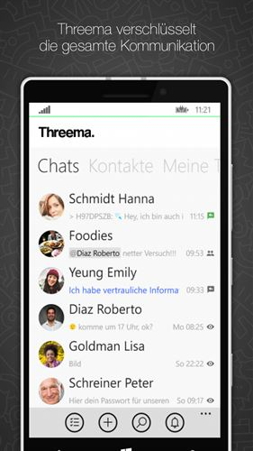 Threema Screenshot